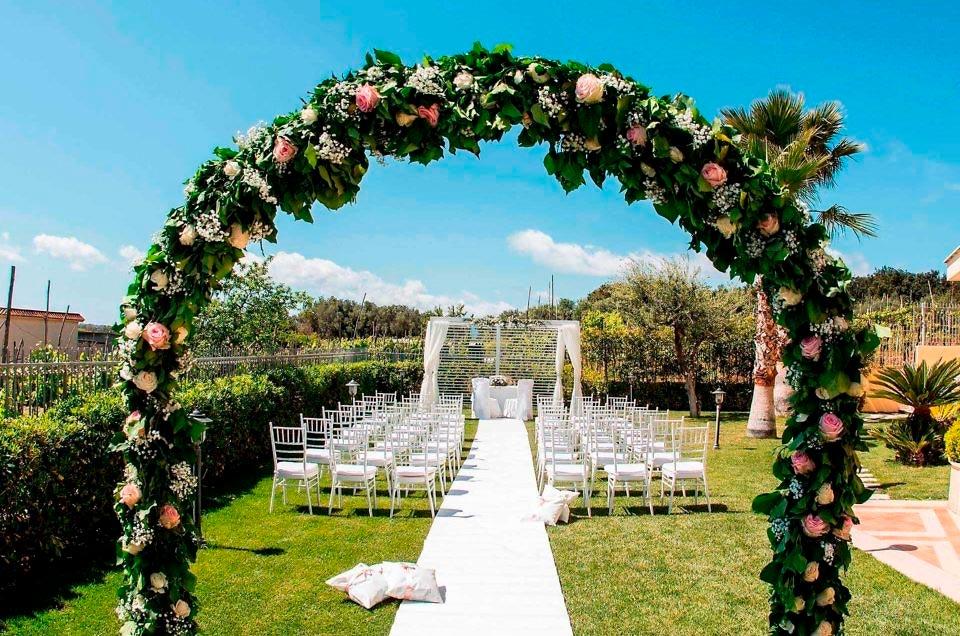 Matrimonio all'aperto …una favola che si avvera..