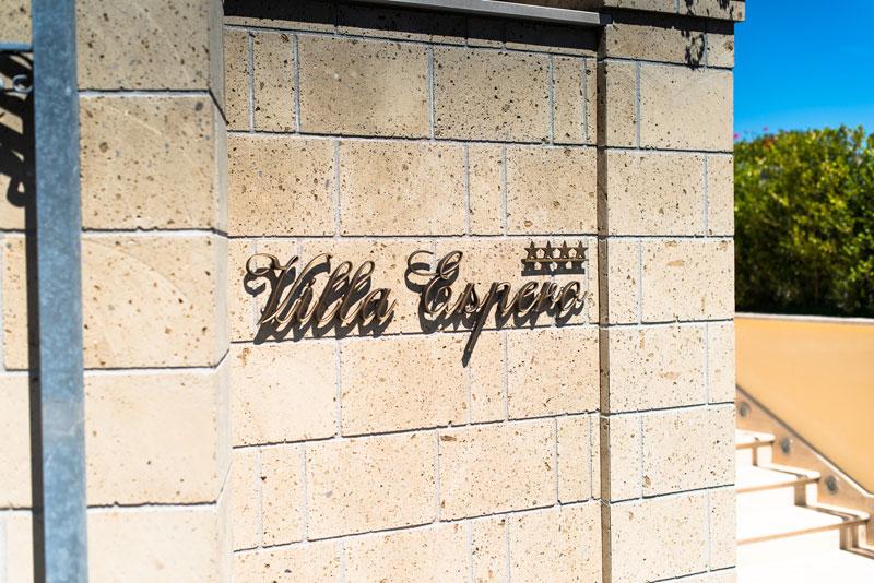 Invitati felici a Villa Espero