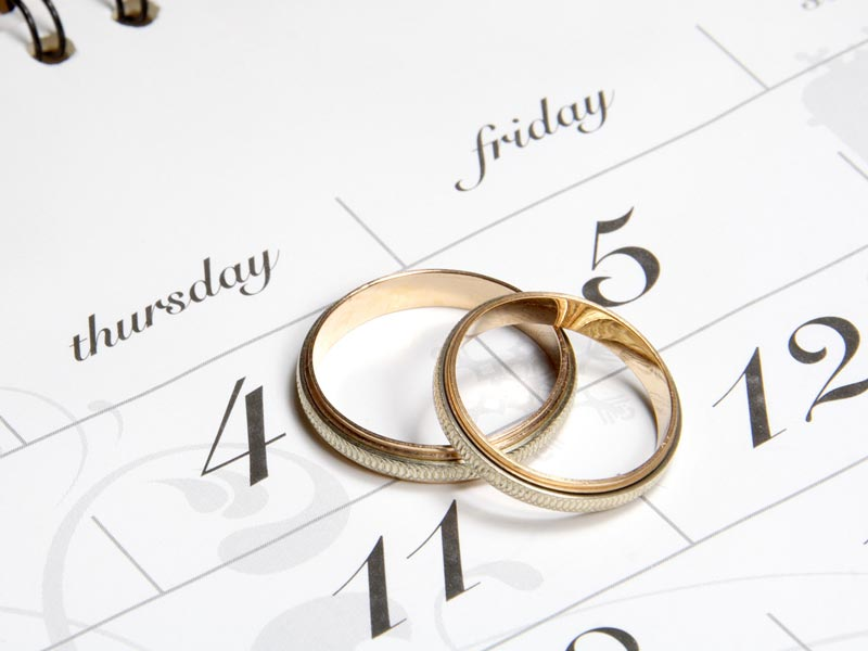 Sposarsi .. qual'è il miglior giorno?