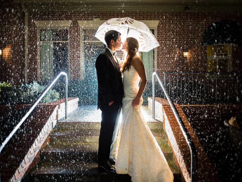 Matrimonio con la pioggia? Cosa fare se piove?