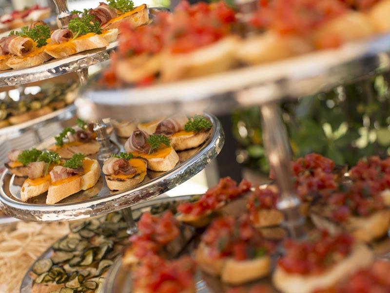 Prova del menù – Villa Espero Ricevimenti