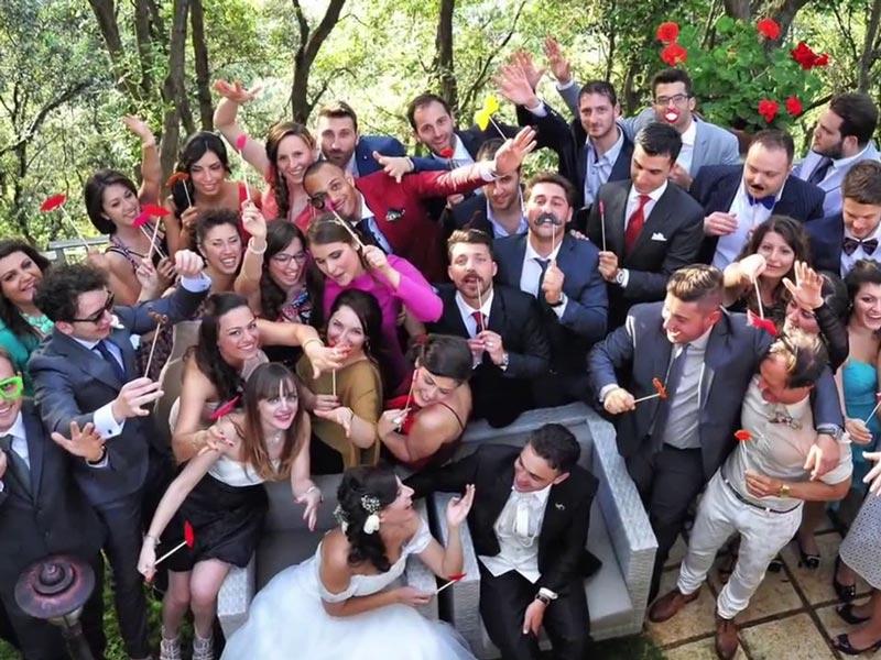 Il matrimonio è anche allegria!