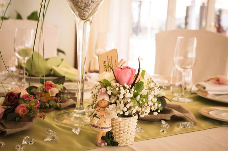 L'eleganza dell'allestimento floreale